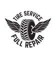 tire service2 vector image vector image