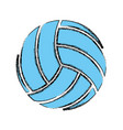voleyball sport game vector image vector image
