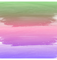 watercolor background with pastel color vector image