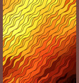 wave background doodle hand drawn lines vector image