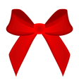 bow on a white background vector image