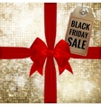 black friday sale tag eps 10 vector image vector image
