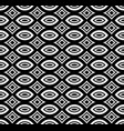 black white repeat ornamental texture vector image vector image