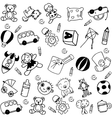 children doodle funny vector image vector image