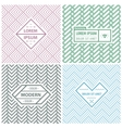 Graphic Design Templates for Logo Labels and vector image vector image