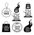 hot sale banners this weekend only special offer vector image vector image