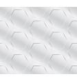 metal industry geometric pattern seamless vector image vector image