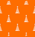 party hat pattern seamless vector image