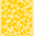 tile background with yellow triangle geometric mos vector image