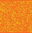 Chaotic abstract halftone circle pattern