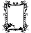 frame stencil vector image vector image