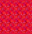 geometrical dot pattern background - crimson vector image vector image