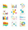 graphics charts and diagrams drawing vector image vector image