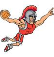 knight sports logo mascot basketball vector image vector image