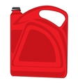 Red tank vector image vector image