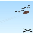 Trap shooting-6 vector image