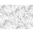 Wallpaper in the style of Baroque A pattern vector image
