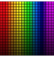 Background of rainbow colored mosaic vector image