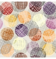 Circles pattern with transparency vector image vector image