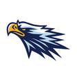 eagle head mascot logo mascot design vector image vector image