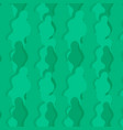 leaves green seamless pattern textile print vector image vector image