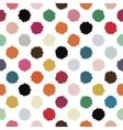 polka blots vector image