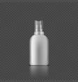 sanitizer spray bottle for hands hygiene vector image