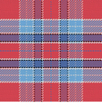 Seamless pattern Scottish tartan red and blue