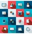 Freelance Icon Flat vector image
