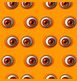 abstract red eye seamless pattern vector image vector image