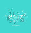 new trends prospects and predictions in business vector image vector image