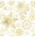 seamless christmas background new year vector image vector image