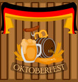traditional oktoberfest concept image vector image