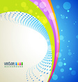 wave background vector image vector image