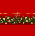 Christmas and new year holiday web banner