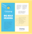 cloud dollar business company poster template vector image vector image