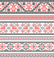 Collection of embroidery ornament vector image
