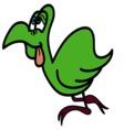 dodo vector image