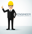 engineer charactor vector image