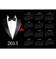 European calendar with smoking 2013 vector | Price: 1 Credit (USD $1)