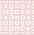 floral seamless pattern vintage ornament in pink vector image vector image