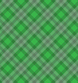 green fabric pattern vector image vector image