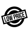 low price rubber stamp vector image vector image