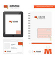 secure credit card business logo tab app diary vector image vector image