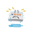 Switchboard Crying Tears Cartoon vector image vector image