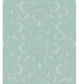 Damask seamless wallpaper with grunge effect vector image