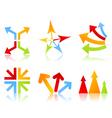arrow icon5 vector image vector image