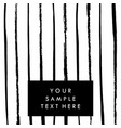 black and white template background for vector image vector image