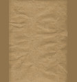 brown wrapping paper background vector image vector image