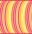curve line in color rainbow graphic vector image vector image